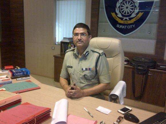 Surat Police Commissioner Rakesh Asthana