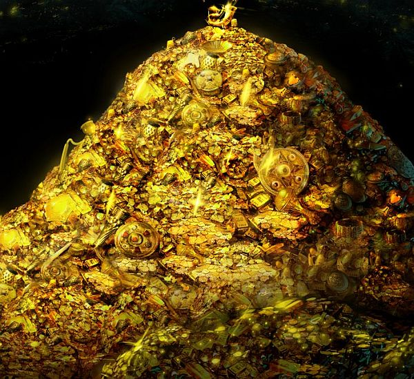 unnao treasure hunt gold won t be found unless i m at site
