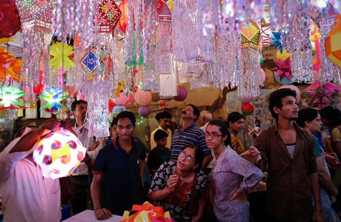 Lights, crackers, action: World celebrates Diwali