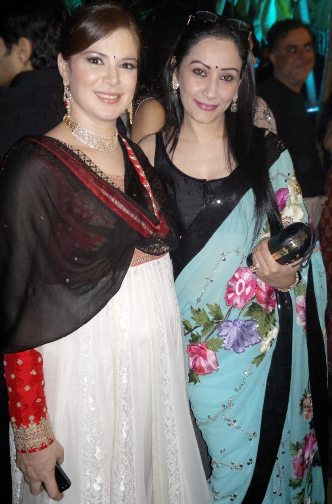 Urvashi Sharma and Manyata Dutt