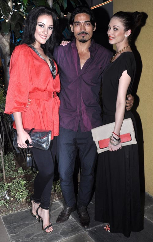 Marcela, Shawar Ali and Claudia Ciesla