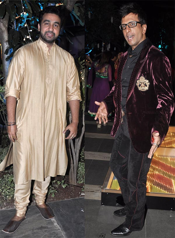 Raj Kundra and Jaaved Jaaferi