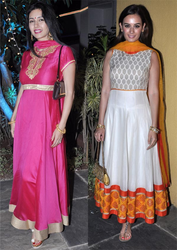 Deepti Bhatnagar and Evelyn Sharma