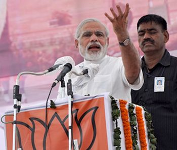 Why is Sonia silent on coal-gate, 2G, asks Modi
