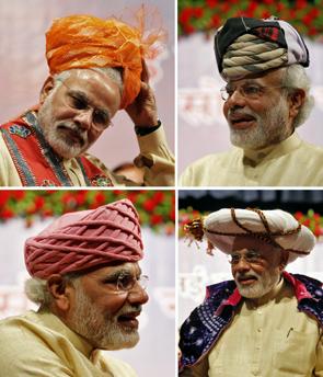 The many avatars of Narendra Modi