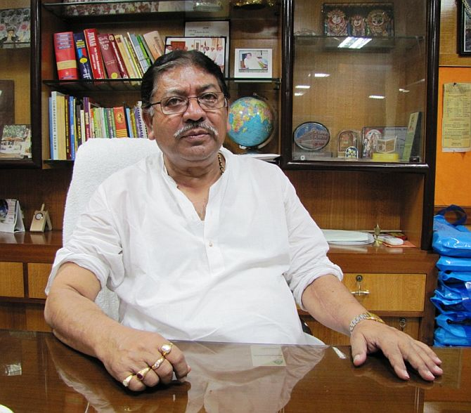 Dissident Trinamool Congress MP Somen Mitra