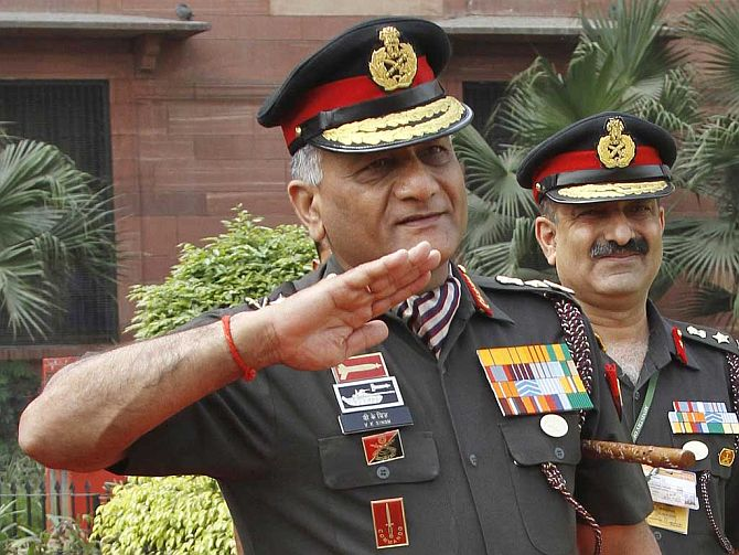 General Singh just took a U-turn... with Courage and Conviction