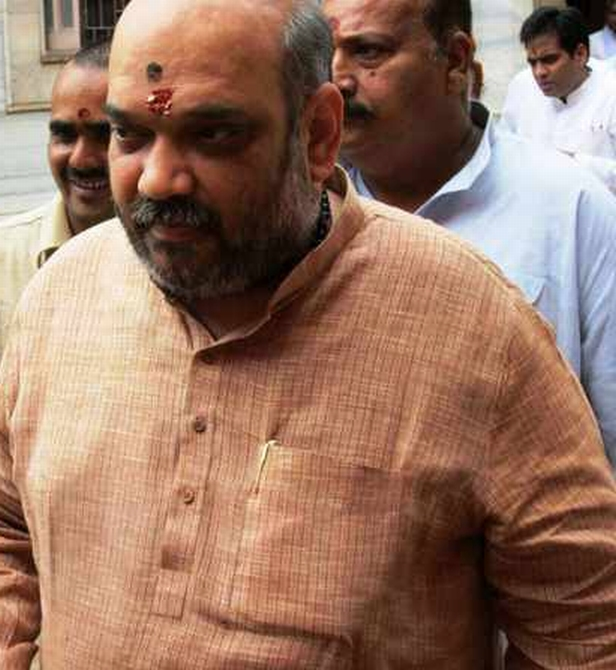 Former Gujarat minister of state for home and the BJP's point-man for Uttar Pradesh, Amit Shah.