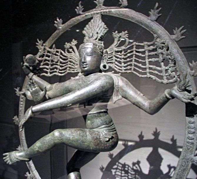 The famous Nataraja statue.