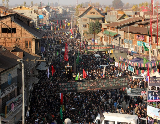 PHOTOS: Muharram processions taken out amid tight security