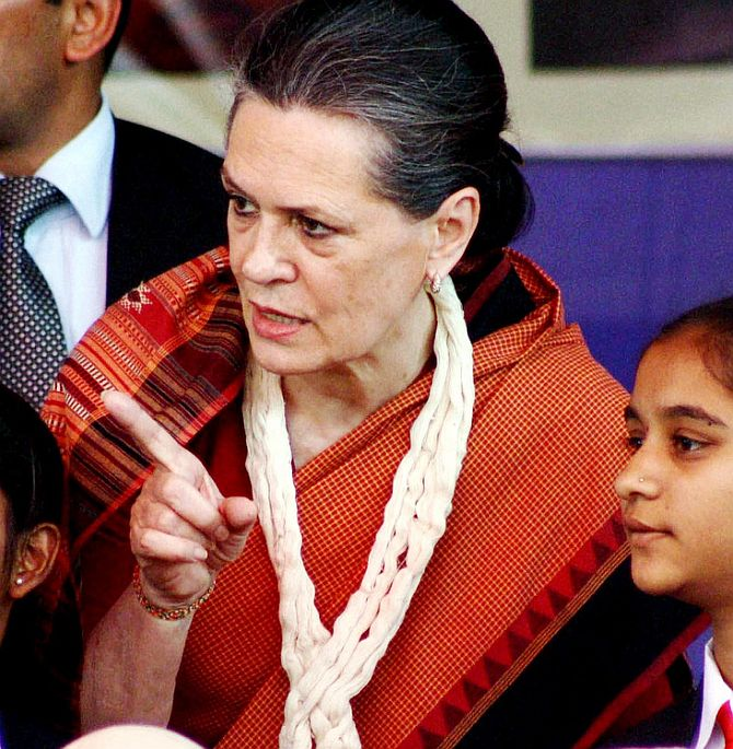 Greedy BJP and Modi turn a brother against a brother: Sonia