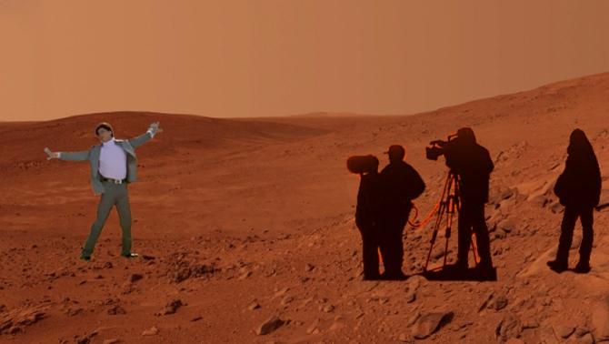 'I love you, M-M-M-Mars'