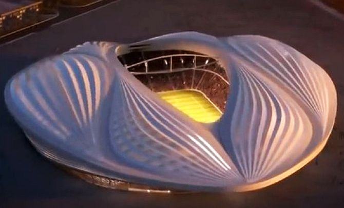 Qatar's World Cup stadium looks like... a vagina?