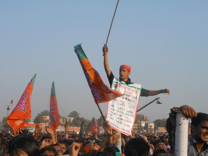 A Modi supporter