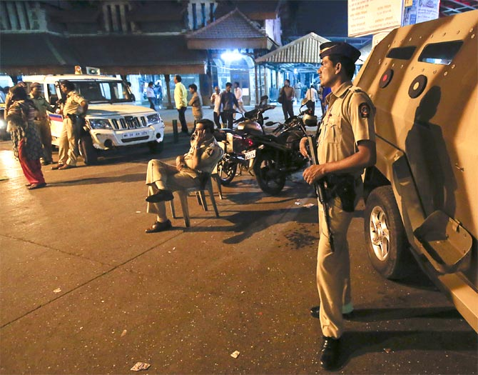 Policemen in India are often overworked, under-paid, stressed.