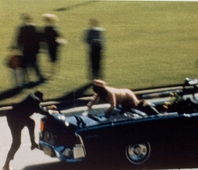 Did the secret service agent shoot Kennedy?