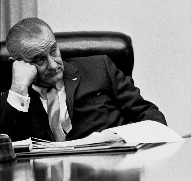 Lyndon B Johnson became President after JFK's assassination