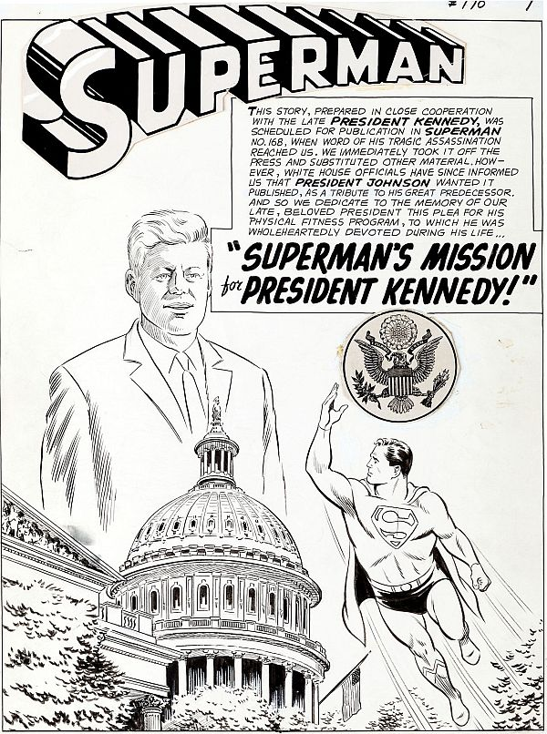 Superman-JFK comic book sold for Rs 70 lakh