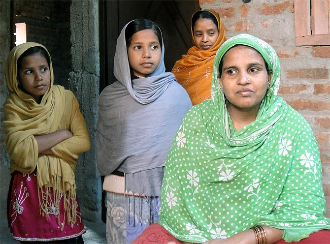 Shenaz Bano lost her parents and husband in the 26/11 attack. She has since remarried and built a new house for her family in Nawada.