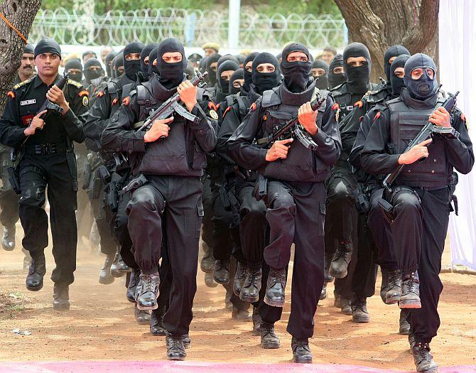 NSG commandos