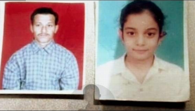 Photos of Hemraj and Aarushi, who were murdered by the Talwars