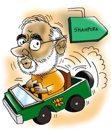 Poll diary: Is Narendra Modi changing?