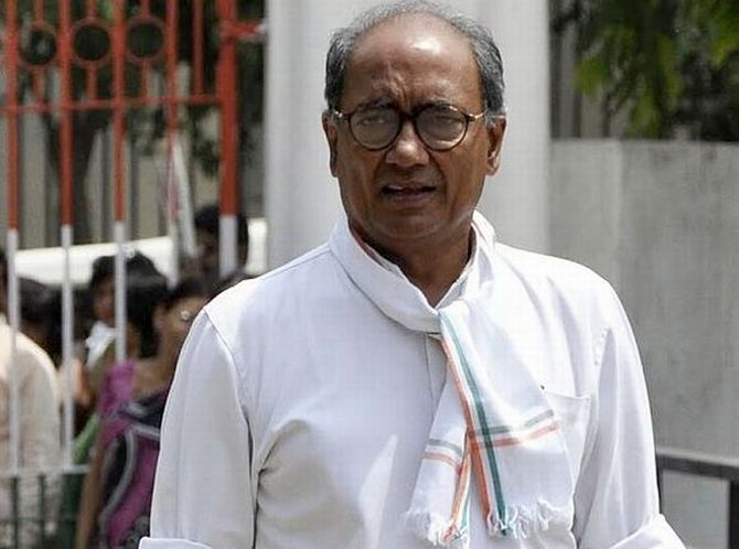 Former MP Chief Minister Digvijaya Singh