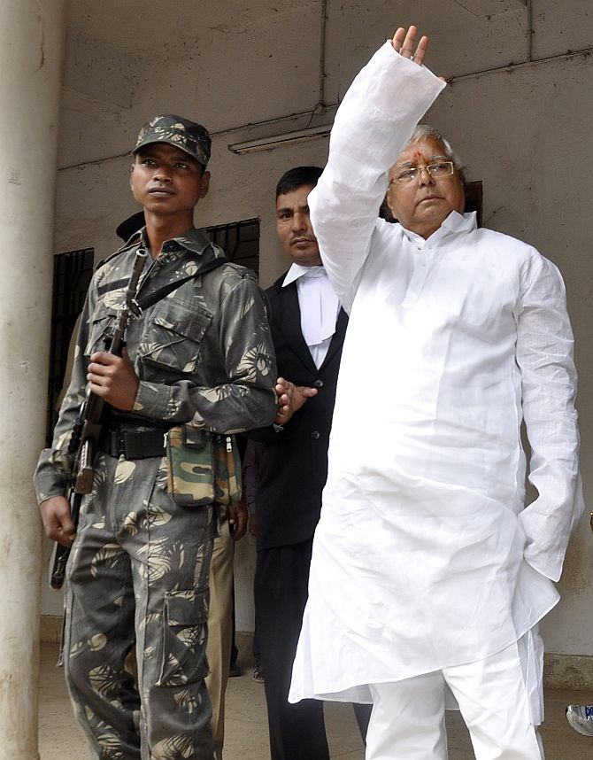 Fodder scam: Lalu jailed for 5 years, fined Rs 25 lakh