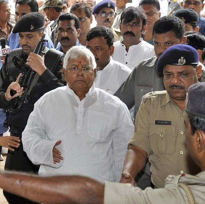 RJD chief and a former Bihar CM Lalu Prasad Yadav has been jailed for 5 years in the fodder scam