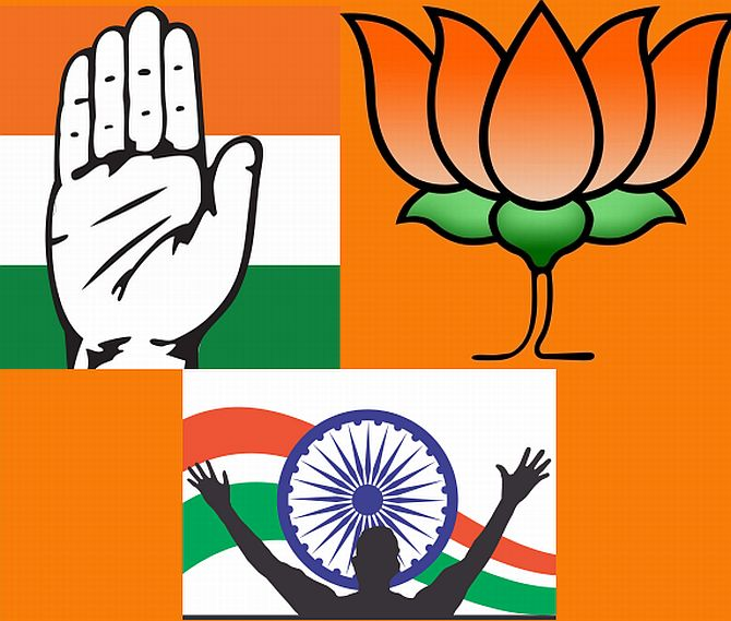 Congress vs BJP vs AAP: The battle for Delhi begins