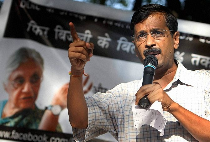 Kejriwal questions Cong, BJP's 'unconditional', 'constructive' support