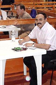 Muralidharan Raja - IBF