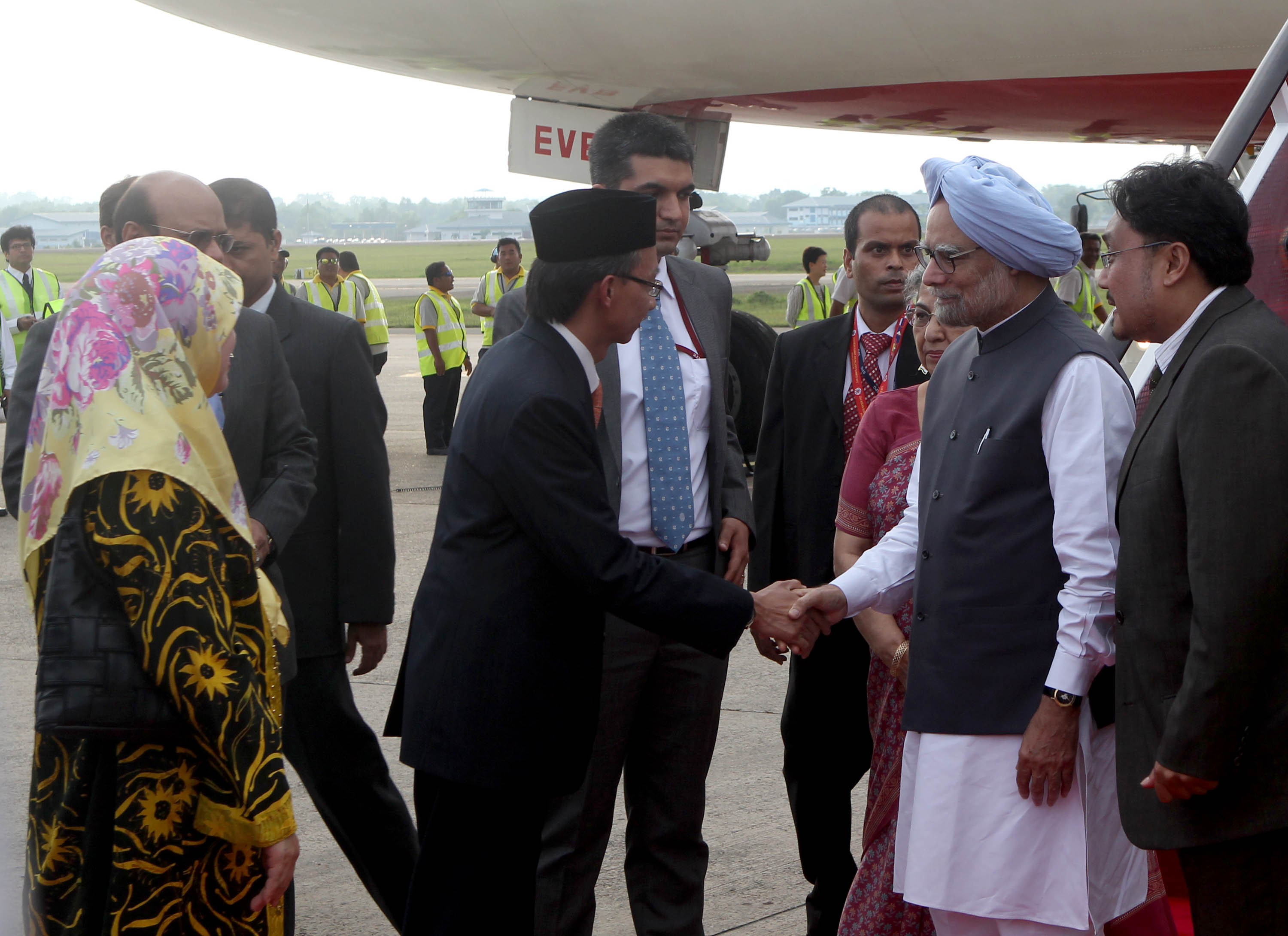 Prime Minister Manmohan Singh in Brunei