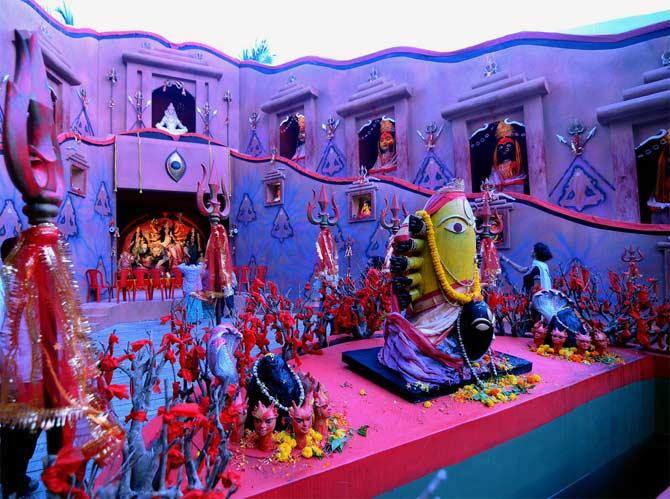 Raipur Club Durga Pujo