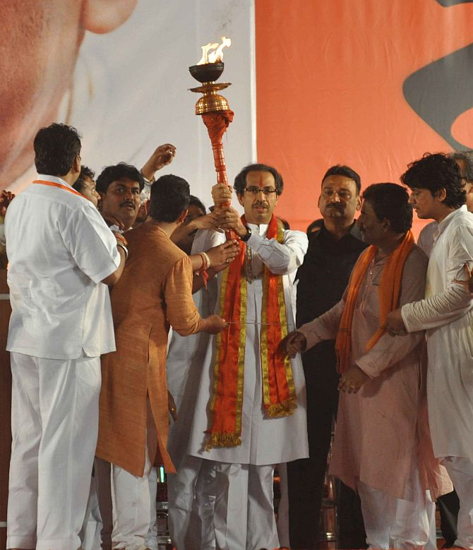 This is Shiv Sena's first Dussehra rally after the death of Bal Thackeray
