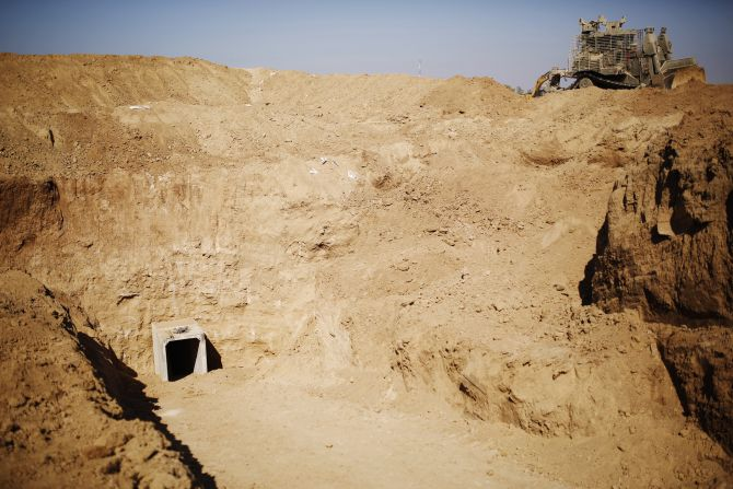 IN PHOTOS: Israel digs out Palestine's 'terror tunnel'