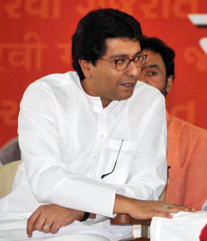 Maharashtra Navnirman Sena President Raj Thackeray