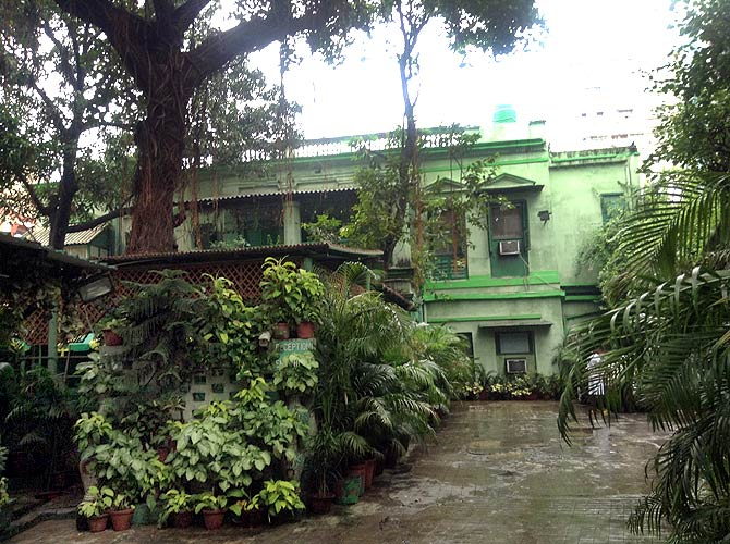 The 215-year-old Fairlawn Hotel on Sudder Street, Kolkata, has been owned by Mrs Violet Smith's family since 1936.