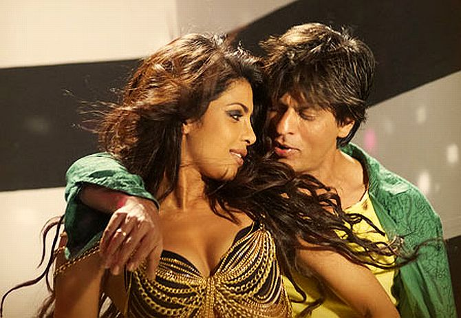 Shahrukh Khan and Priyanka Chopra seen together in Billu