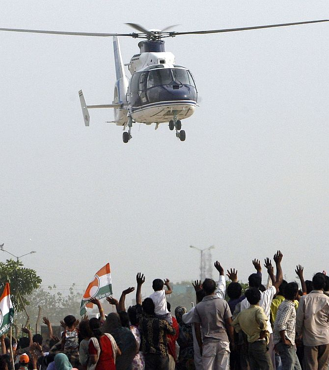 Why netas are in a mad rush for helicopters