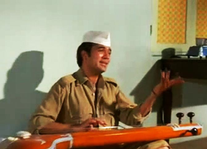 Rajesh Khanna in Bawarchi