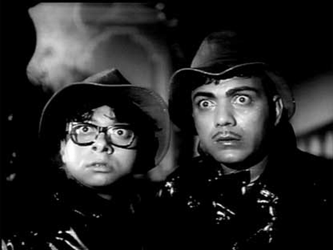 A scene from Bhoot Bangla