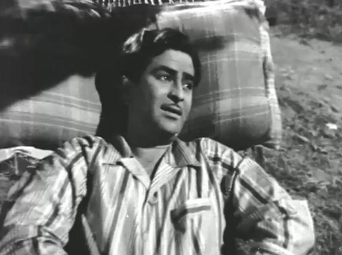 Raj Kapoor in Chori Chori