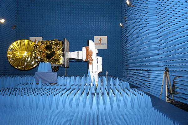 Mars spacecraft undergoing tests