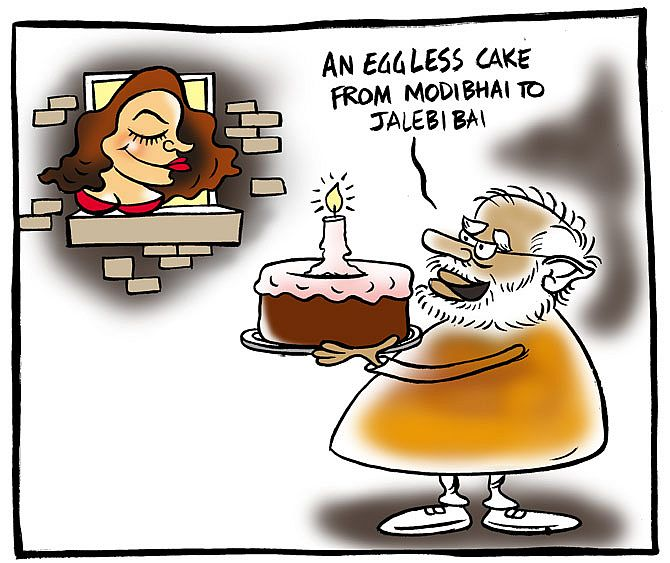 Uttam's Take: Modi's cake surprise for Mallika