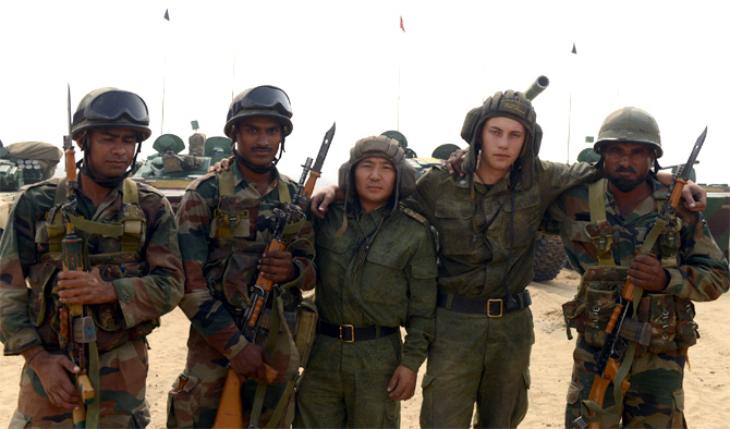 India, Russia war games heat up Rajasthan's desert!
