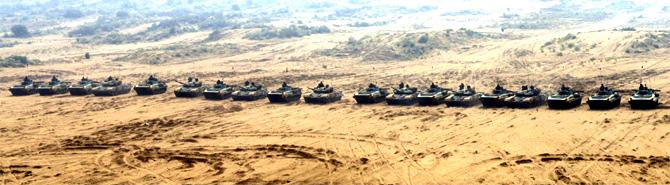 India, Russia war games heat up Rajasthan's desert!