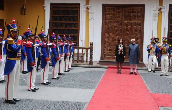 India's great leap forward in Peru