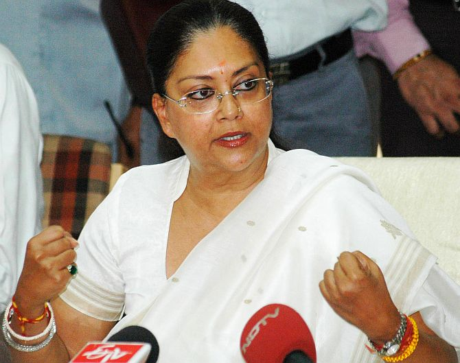 51 per cent respondents want a comeback of Vasundhara Raje as the CM of Rajasthan, the survey says