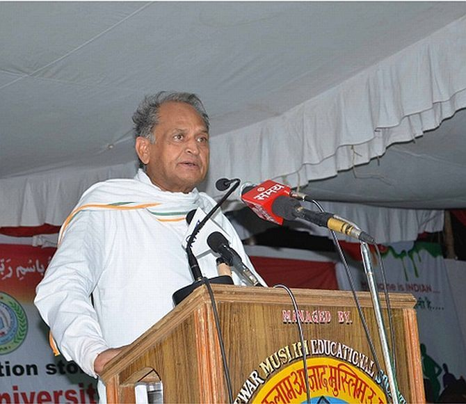 Only 27 per cent of respondents want Ashok Gehlot to remain CM